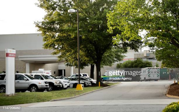A view of Virgina Beach Hospital after a shooter opened fire at the Virginia Beach Municipal Center in Virginia United States on May 31 2019 At least...