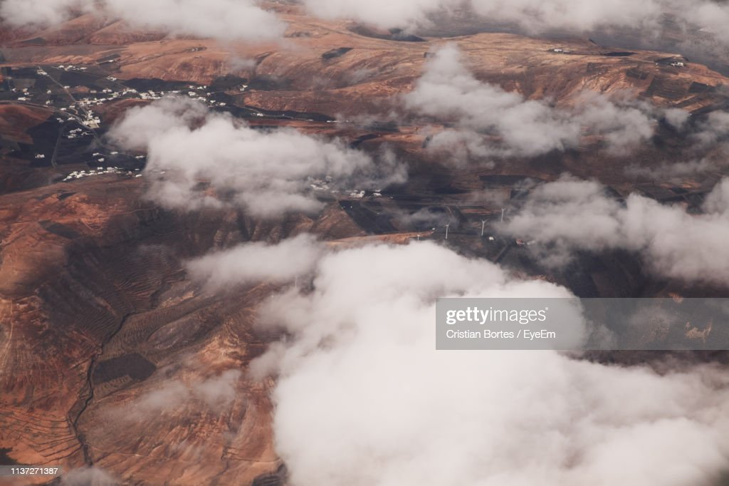 View Of Volcanic Landscape : Stock Photo