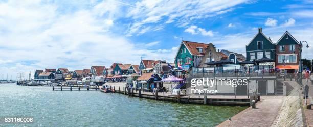 View of Volendam city, Netherlands