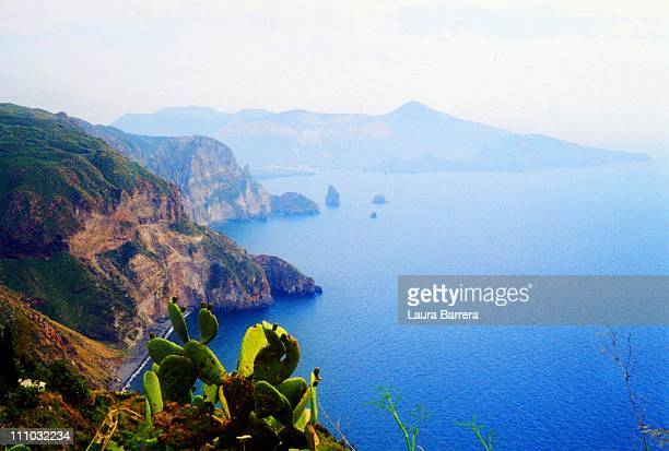 View of Vulcano from Lipari