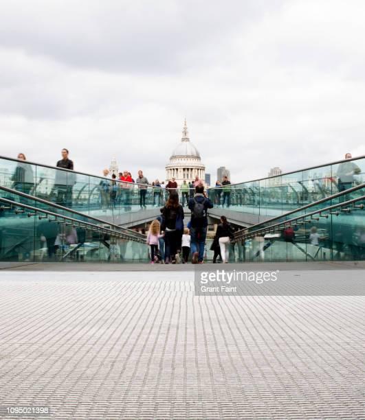view of walking pedestrians. - menschliche siedlung stock-fotos und bilder