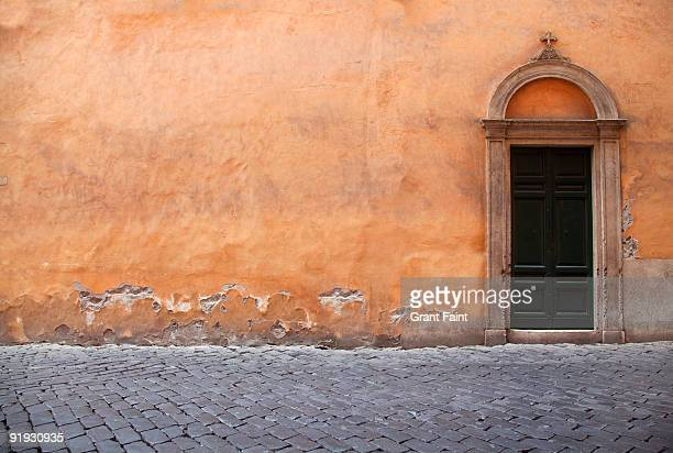 view of wall and doorway - rome ga stock pictures, royalty-free photos & images