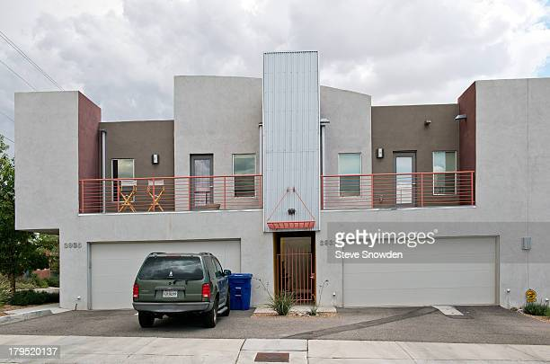 A view of Walter White's condo from television series 'Breaking Bad' on September 01 2013 in Albuquerque New Mexico After getting kicked out of his...