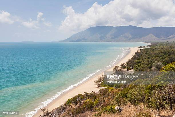 View of Wangetti beach from Rex lookout
