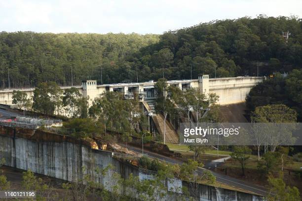 A view of Warragamba Dam on June 25, 2019 in Sydney