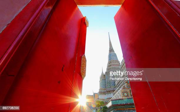 View of Wat Pho, Bangkok, Thailand