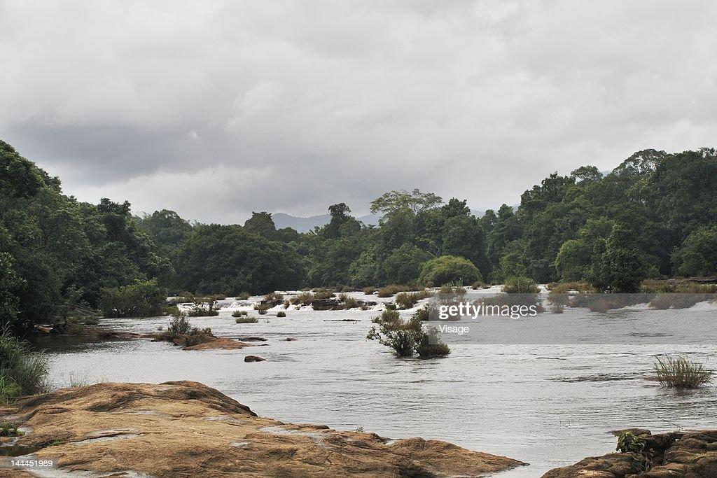 View of waterfalls : Stock Photo
