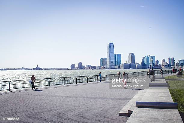 View Of Waterfront Cityscape