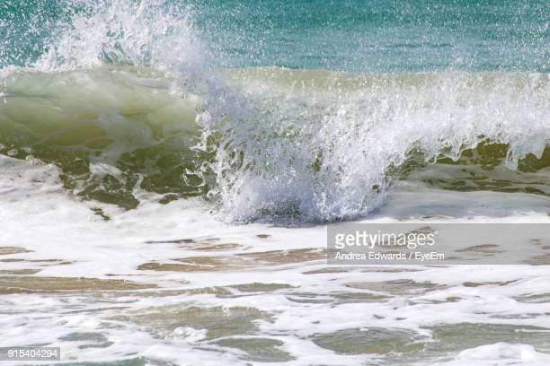 View Of Waves In Sea