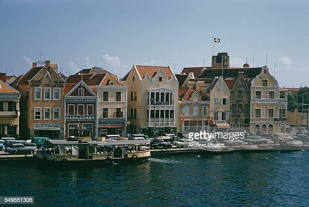 A view of Willemstad the capital city of Curaçao circa 1960