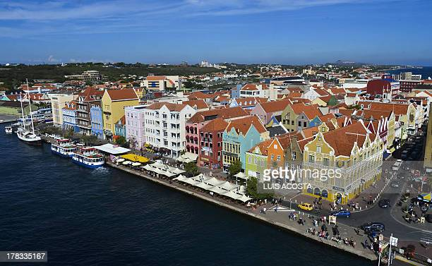 View of Willenstad Curacao on August 29 2013 AFP PHOTO / Luis Acosta