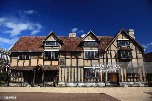 A view of William Shakespeare's birthplace on April 10 2012 in StratfordUponAvon England With only a few months to go until the opening ceremony of...