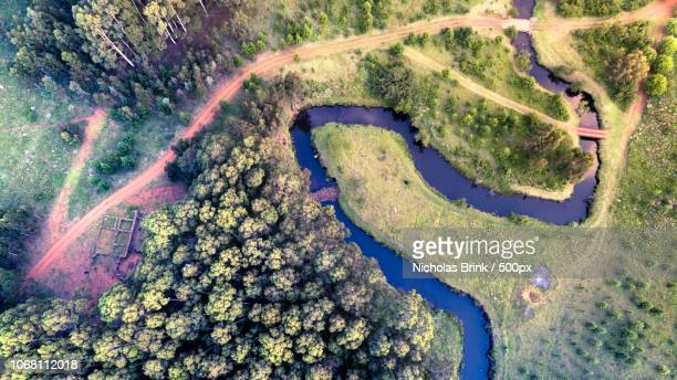 view of winding river - mpumalanga province stock pictures, royalty-free photos & images