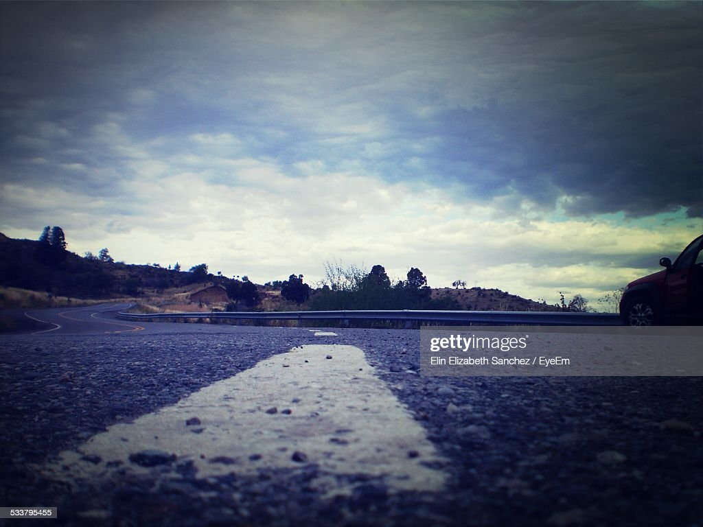 View Of Winding Road : Foto stock