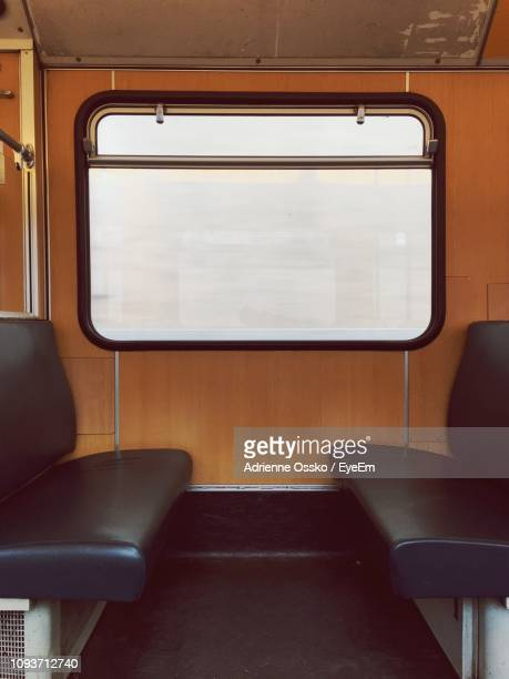 View Of Window And Seat In Train