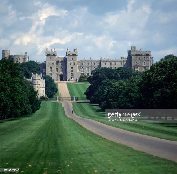View of Windsor Castle, England, United Kingdom.