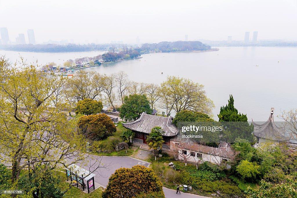 View of Xuanwu lake : Stock Photo