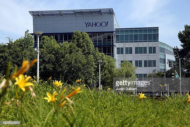 A view of Yahoo headquarters on May 23 2014 in Sunnyvale California