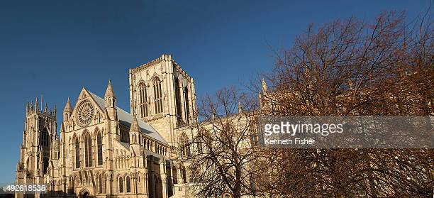 View of York Minster from the front.