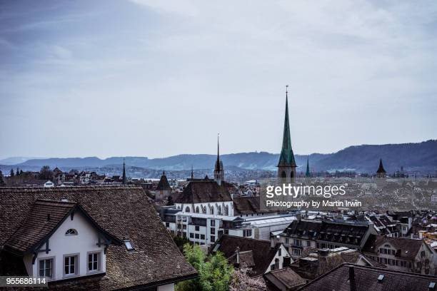 View of Zurich from ETH