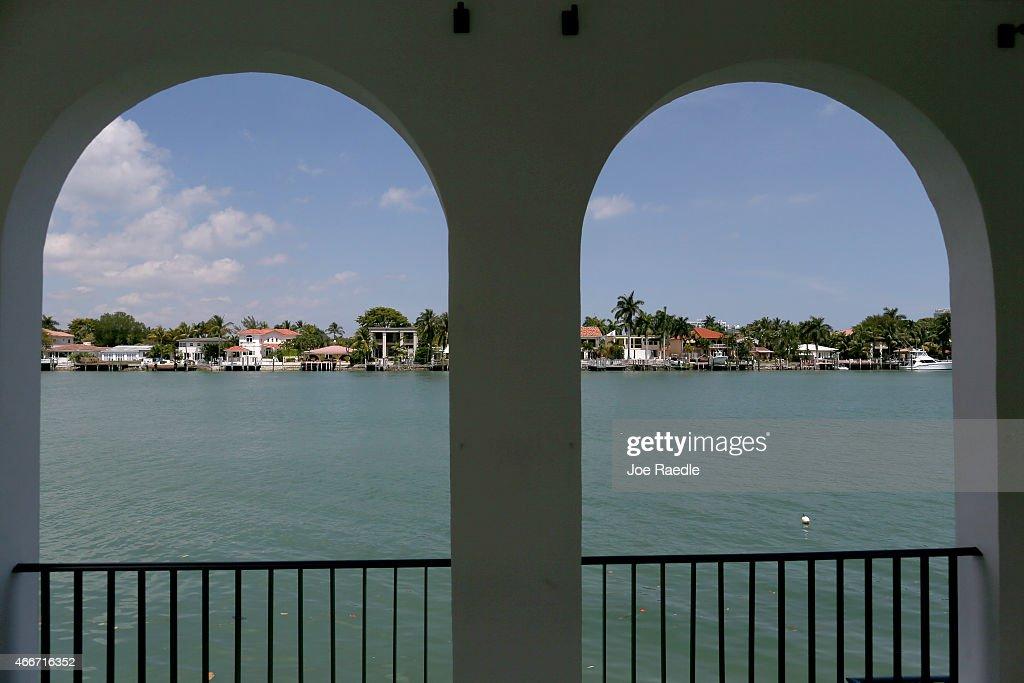 Former Home Of Al Capone Refurbished In Miami Beach : News Photo