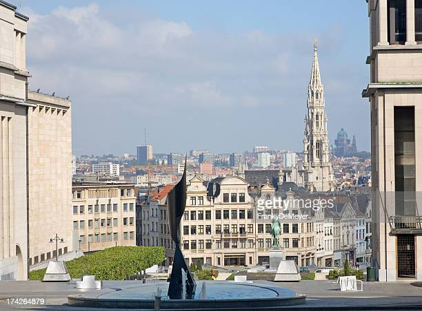 View on Brussels cityscape