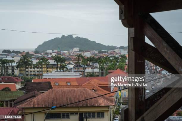 View on Cayenne, Guyana, Cayenne, France on March 17 2018 in Cayenne, France.