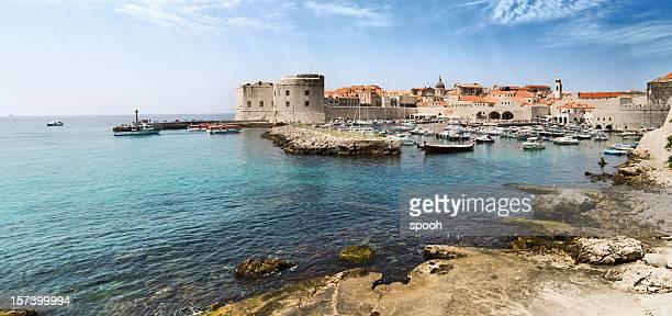 View on Dubrovnik in Croatia