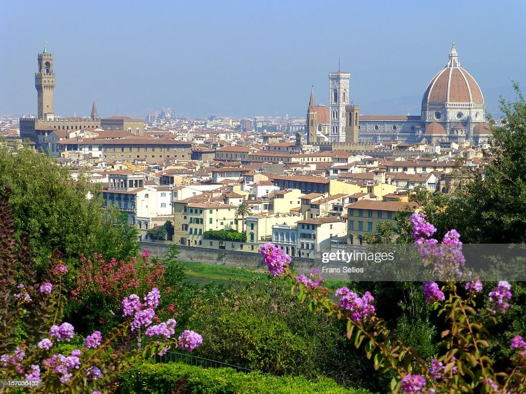 View on Florence, Italy : Stockfoto