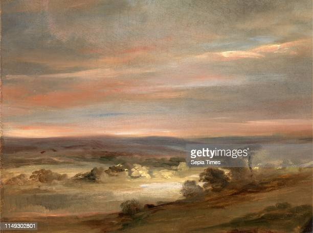 View on Hampstead Heath, Early Morning A View on Hampstead Heath, Early Morning , Attributed to John Constable, 1776-1837, British