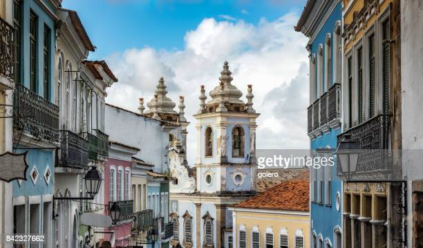 view on historic Center Pelourinho in Salvador