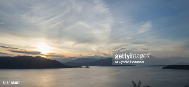 View on Horseshoe Bay from Sea-to-Sky Highway