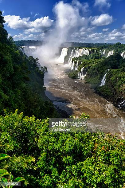 View on Iguazu Falls from Brazil side