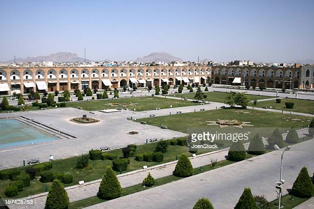 View on Imam Square in Ispahan Esfahan Iran