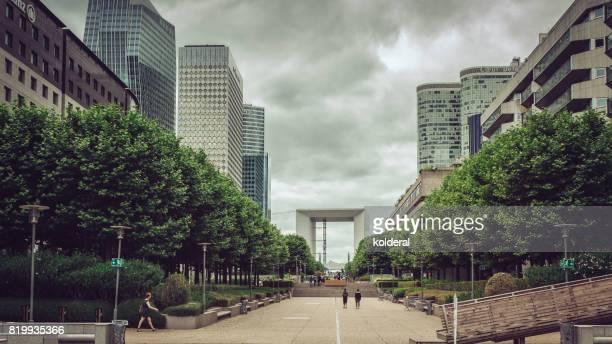 View on La Grande Arche de la Défense