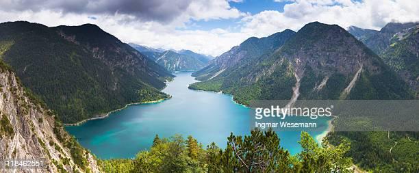 View on lake plansee, tirol, austria, alps