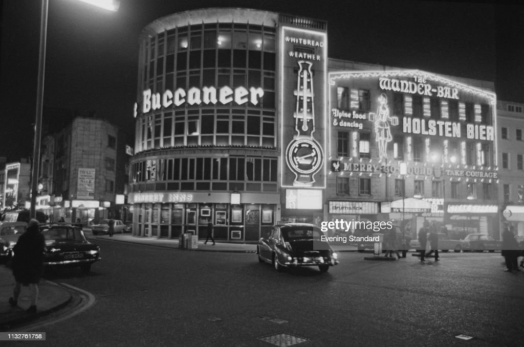 Leicester Square, London, 1969 : News Photo