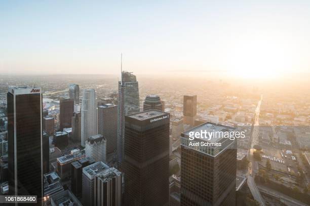 View on Los Angeles Skyline