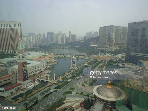 View on Macao Cotai Strip and Taipa