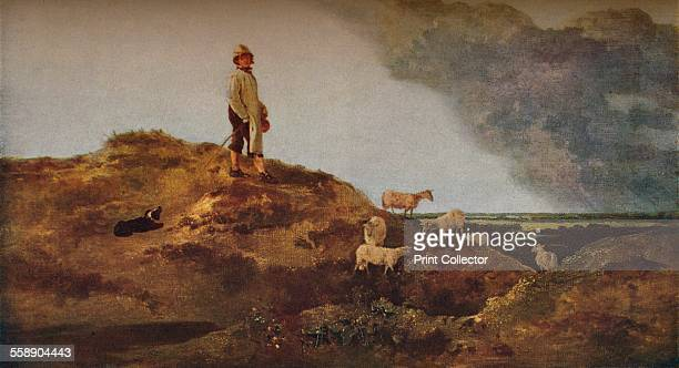 'View on Mousehold Heath Near Norwich' c1812 Painting housed at the Victoria Albert Museum London From The Connoisseur Volume LXXVII [The Connoisseur...