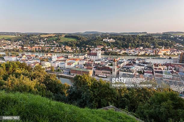 View on Passau Lower Bavaria Germany