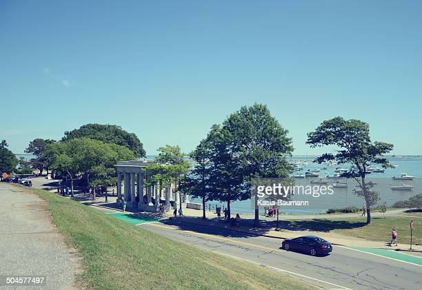 view on plymouth, massachusetts - plymouth massachusetts stock photos and pictures