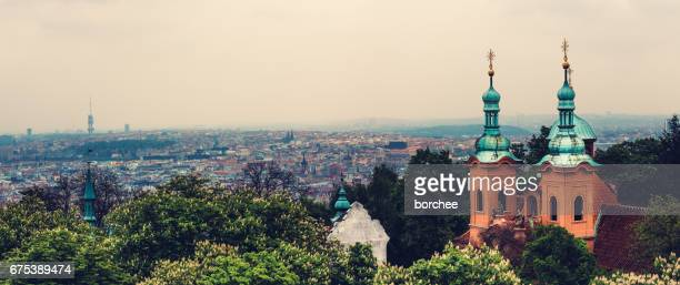 View On Prague From Petrin Hill