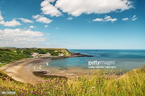 View on Runswick Bay and coast