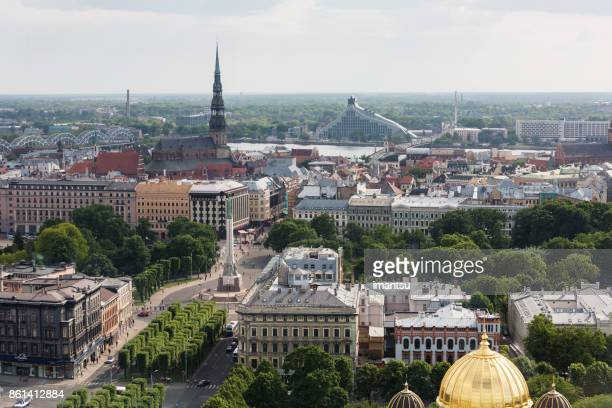 View on the central part of Riga
