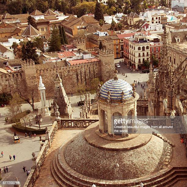 View on the old city of Seville