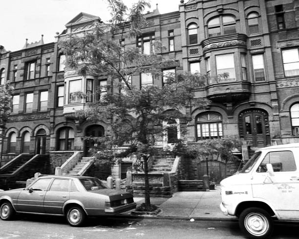 View on Union Street in Park Slope, Brooklyn.