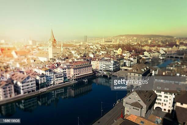 View on Zurich