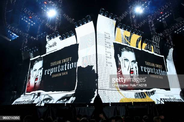 A view onstage during the Taylor Swift reputation Stadium Tour at the Rose Bowl on May 18 2018 in Pasadena California