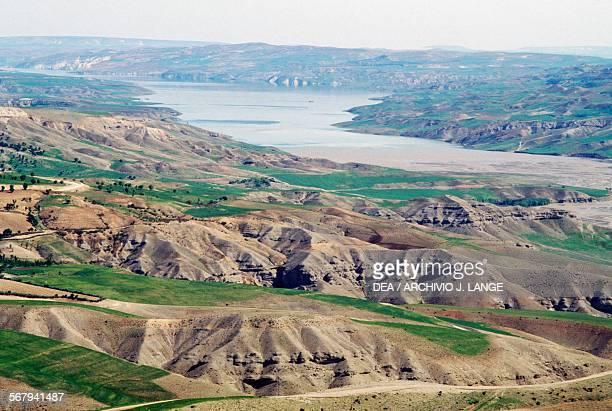 View ot the Euphrates valley Turkey